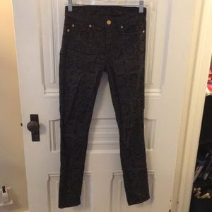 7 For All Mankind Paisley pant.